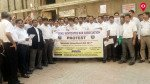 न्यू प्रपोज लॉ अमेंडमेंट के विरोध में सड़क पर वकील