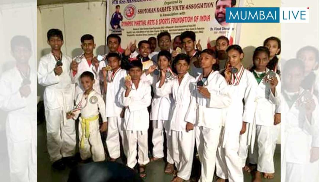Malwani's 14 Karate Champions