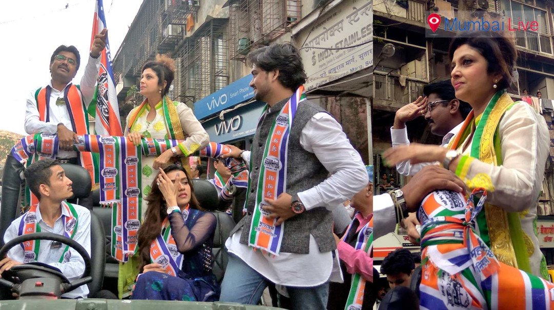 MNS gets Varsha Usgaonkar for election campaigning