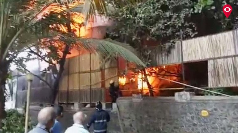 Fire at Kino Cottage in Andheri