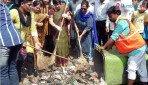 वर्सोवा में कचरा मुक्ती अभियान