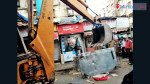 चाय की टपरी और दुकानों पर बीएमसी का हथौड़ा