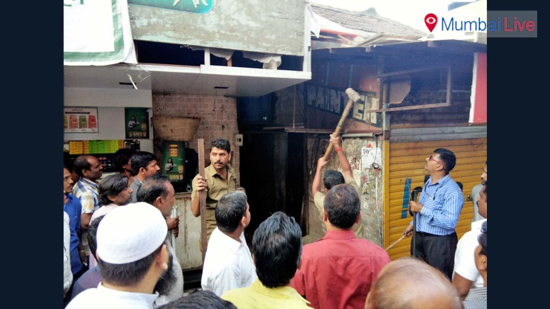 BMC raze illegal shops