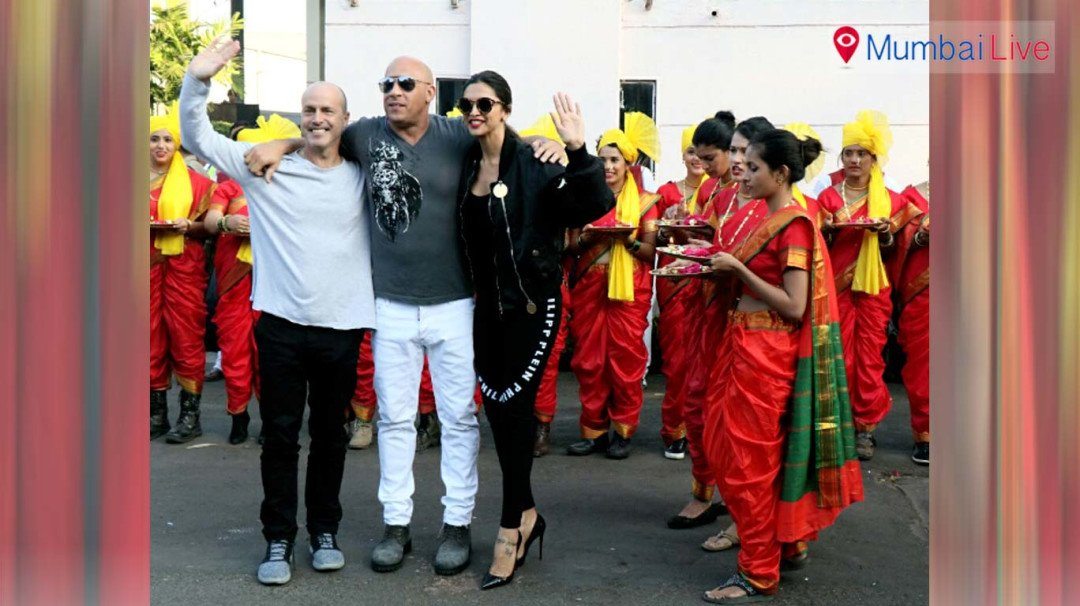 Vin Diesel gets desi welcome in city