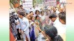 विनय कटियार के खिलाफ मुंबई में आंदोलन