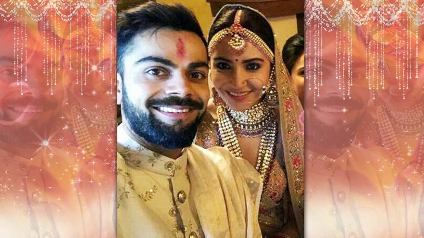 Virat Kohli, Anushka Sharma tie the knot