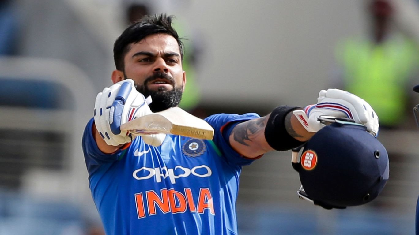 King Kohli crowned ICC cricketer of the year""
