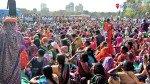 मालाड और दीघा में अवैध निर्माण कार्य को तोड़ने के विरोध में एनसीपी