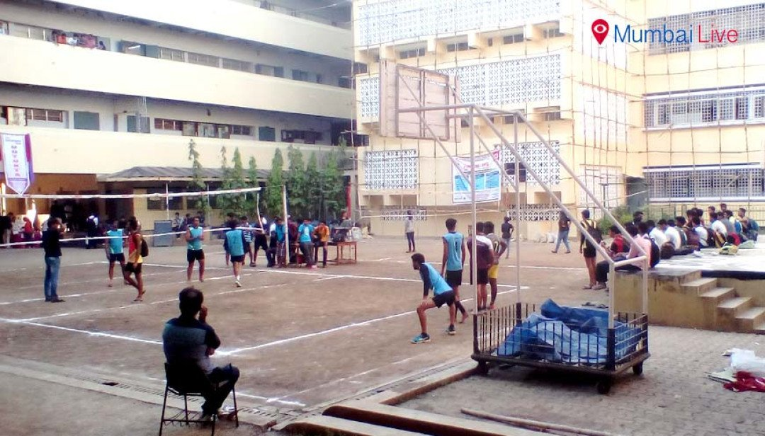 Volleyball competition starts in Vaze College