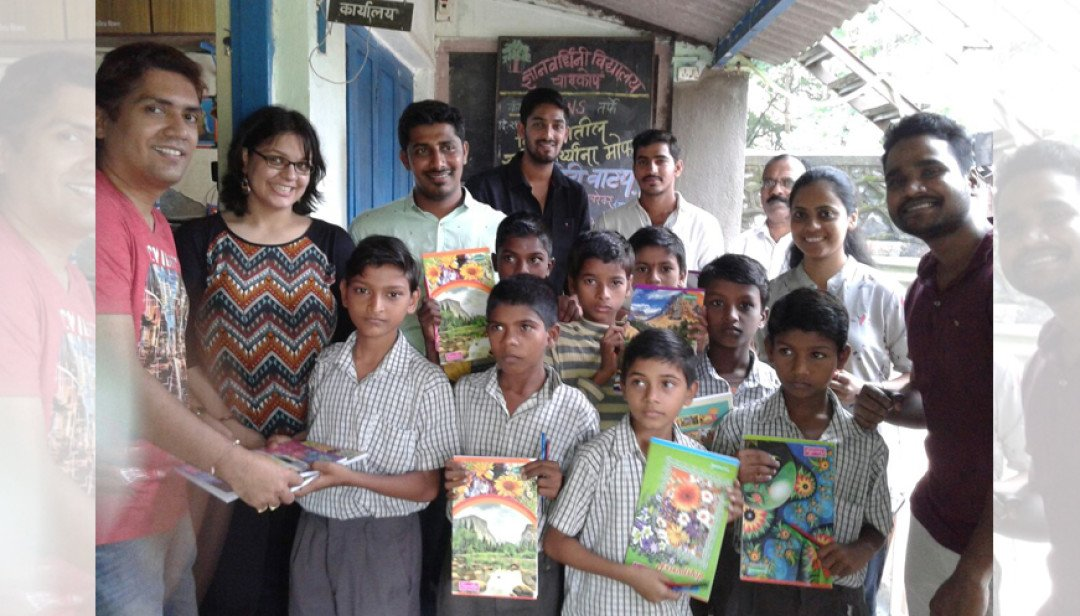 Distribution for school kids
