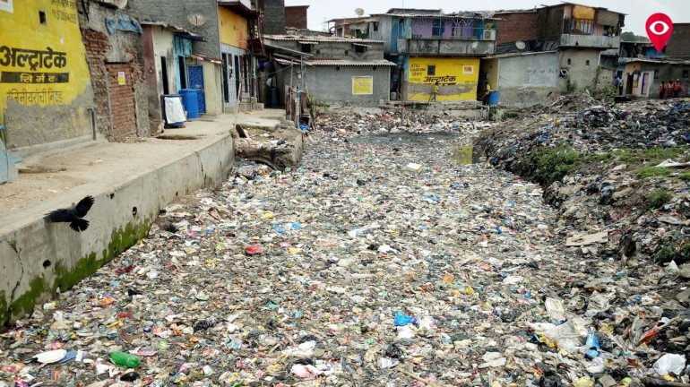 Dirt woes for residents of Korba Mithagar