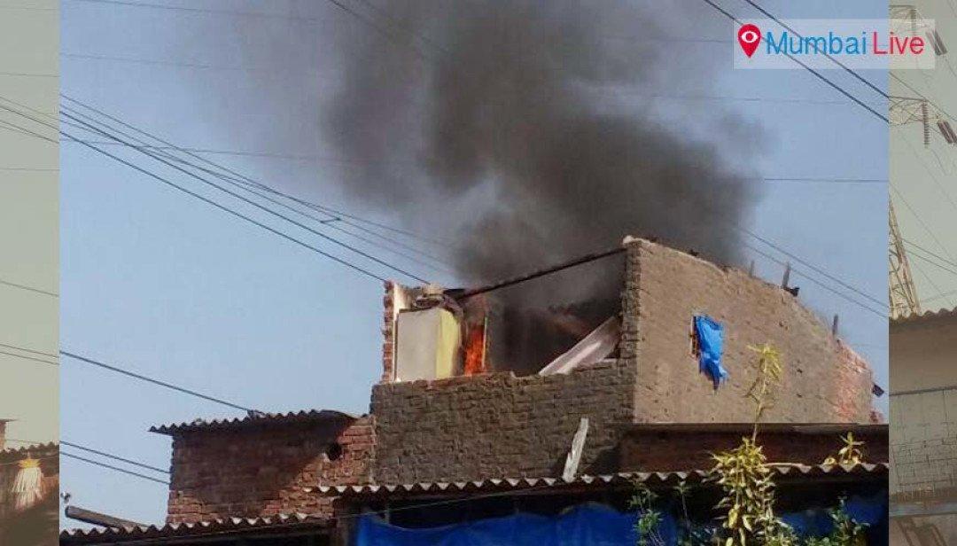 Shanty gutted in fire at Wadala slum