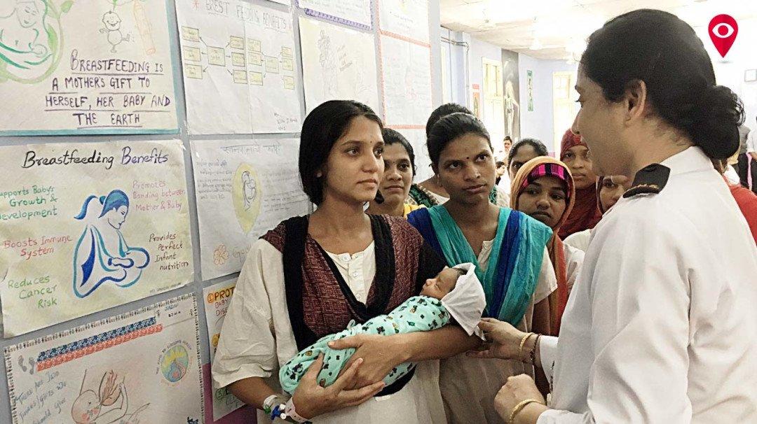 आई तुझा स्तनपानावर भरोसा नाय काय?, वाडिया रुग्णालयाकडून जनजागृती
