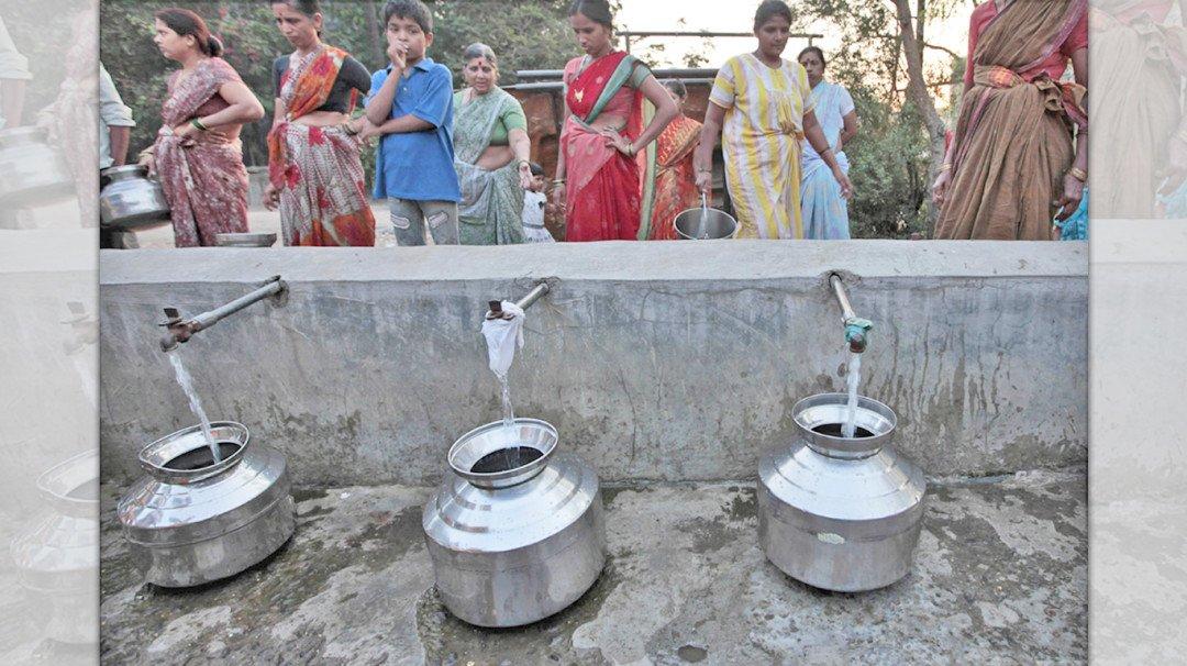 झोपडपट्टीतही आता मुबलक पाणी, प्रति माणशी ९० लिटर्स मिळणार!