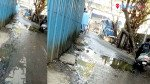 गटाराच्या पाण्यामुळे स्थानिक त्रस्त