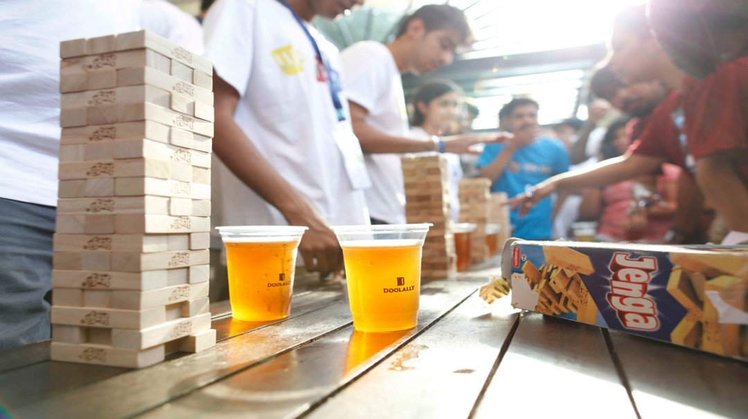 Head over with your gang to Doolally's Beer Olympics