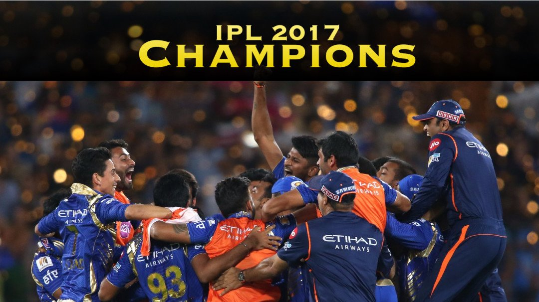 Mumbai Indians pull off 1 run victory; crowned IPL Champions