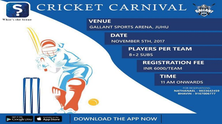 WTS has an exciting sporting experience for you all with 'Cricket Carnival'