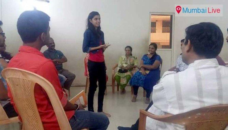 Voice modulation workshop at Bhandup