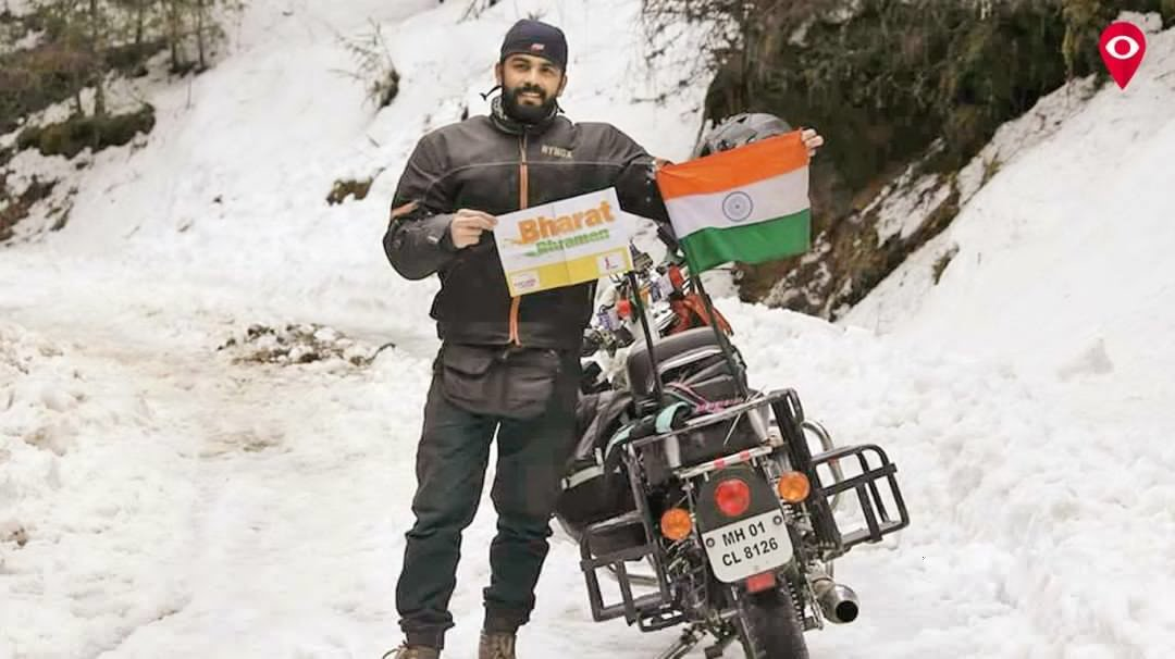A journey of pride - 30,000 km in 105 days