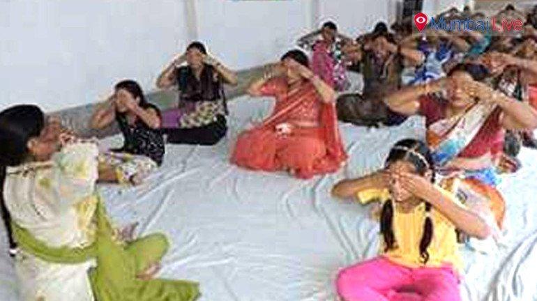 महिलाओं के लिए योग शिविर