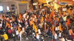 Sena campaigns on wheels