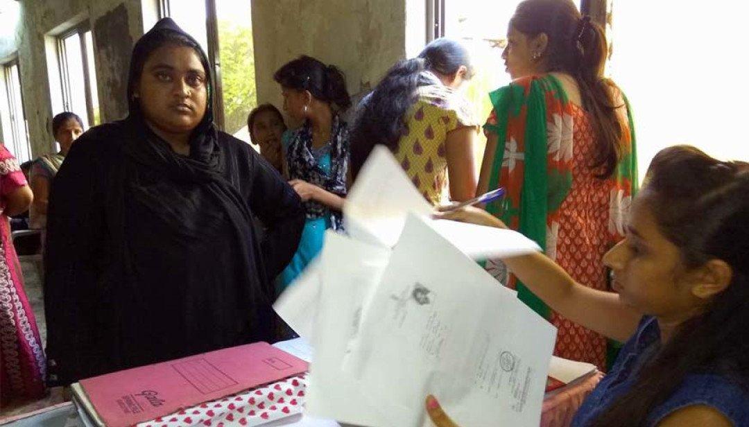 मतदाता पंजीकरण अभियान का आयोजन।