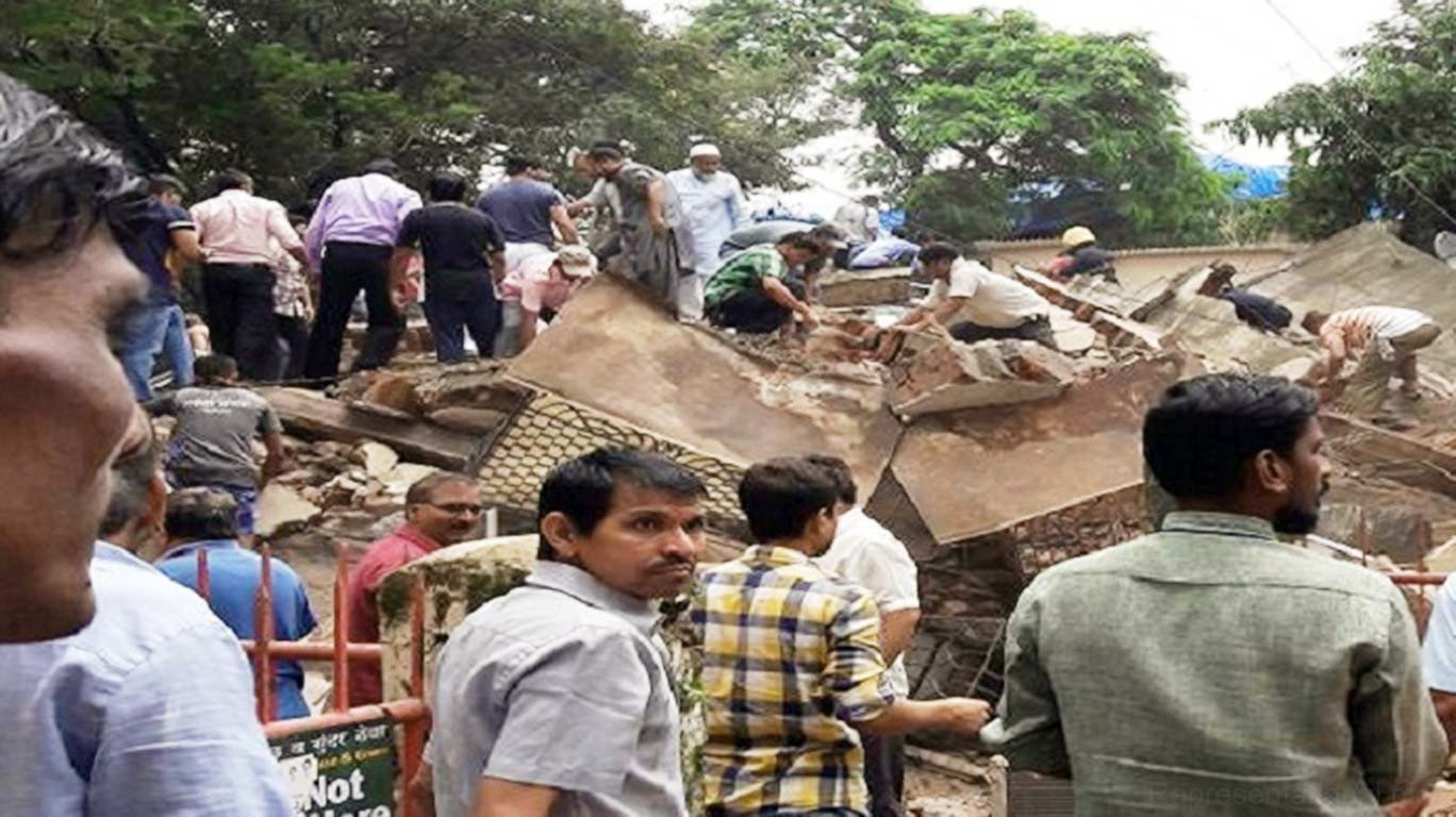 MHADA building crash death toll reaches four