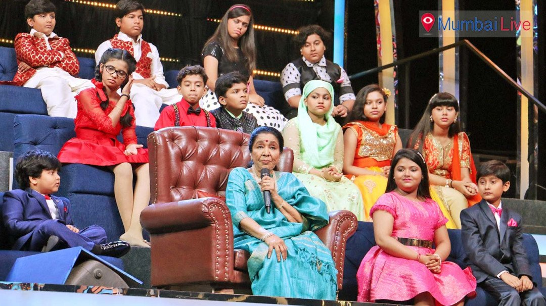 Asha Bhosle on Sa Re Ga Ma Pa Lil Champs
