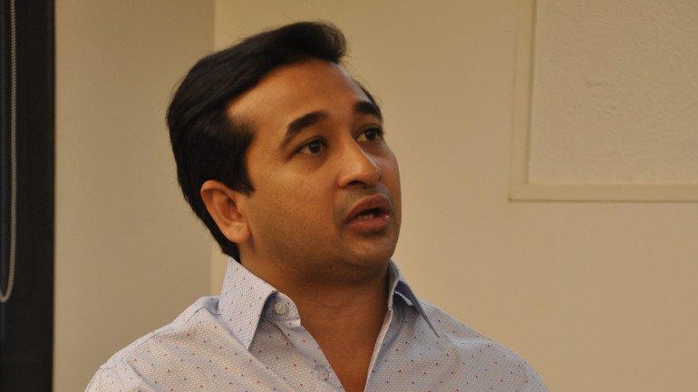राज्य के विकास के लिए एनडीए का थामा दामन - नितेश राणे