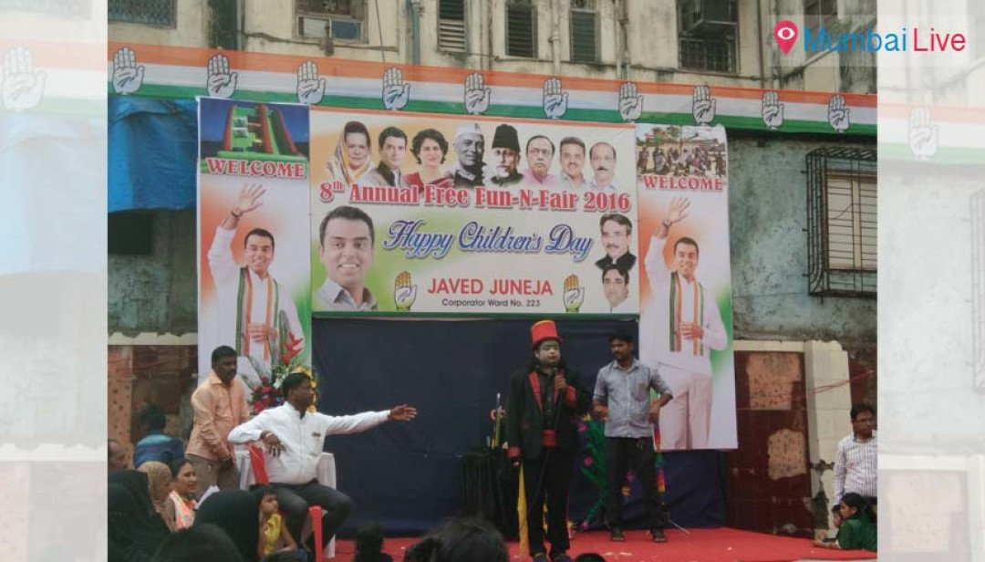 Cong holds Anand Melava on Children's Day