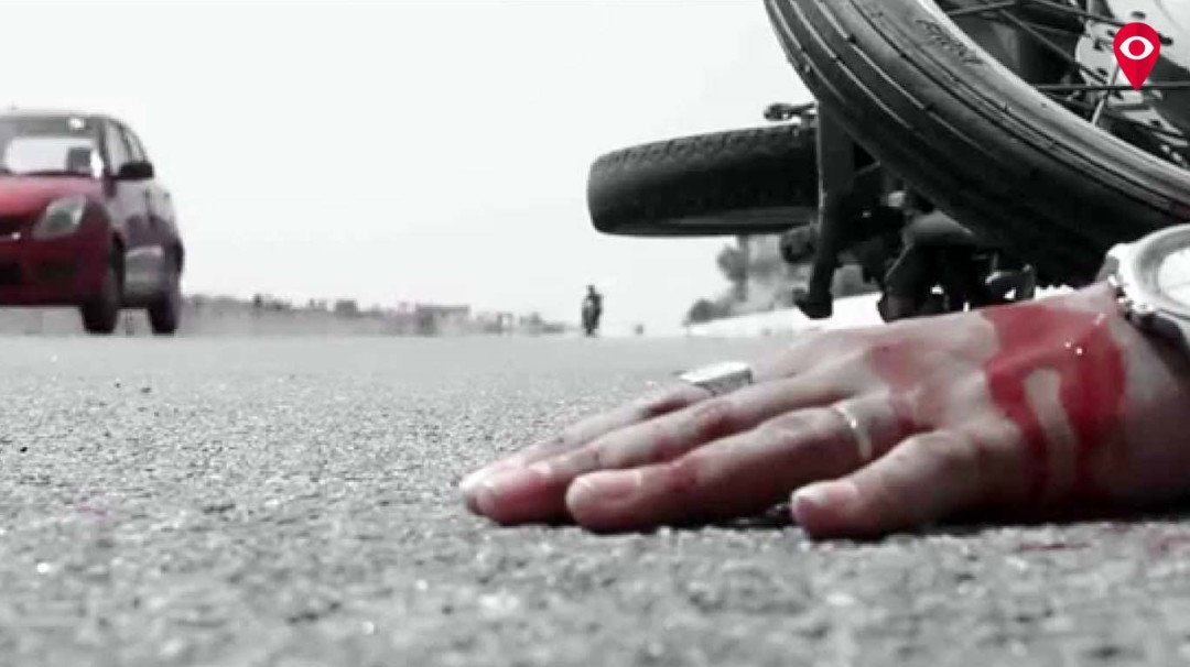 ट्रेलरच्या धडकेने दुचाकीस्वाराचा मृत्यू