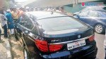 Aditya Thackeray's BMW collides with car