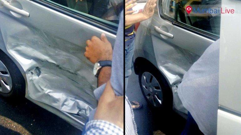 Aditya Thackeray's BMW collides with car