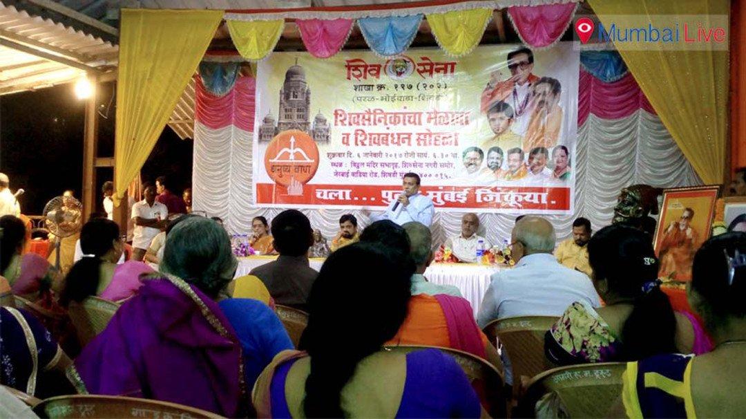 Sena MLA warns party workers against BJP