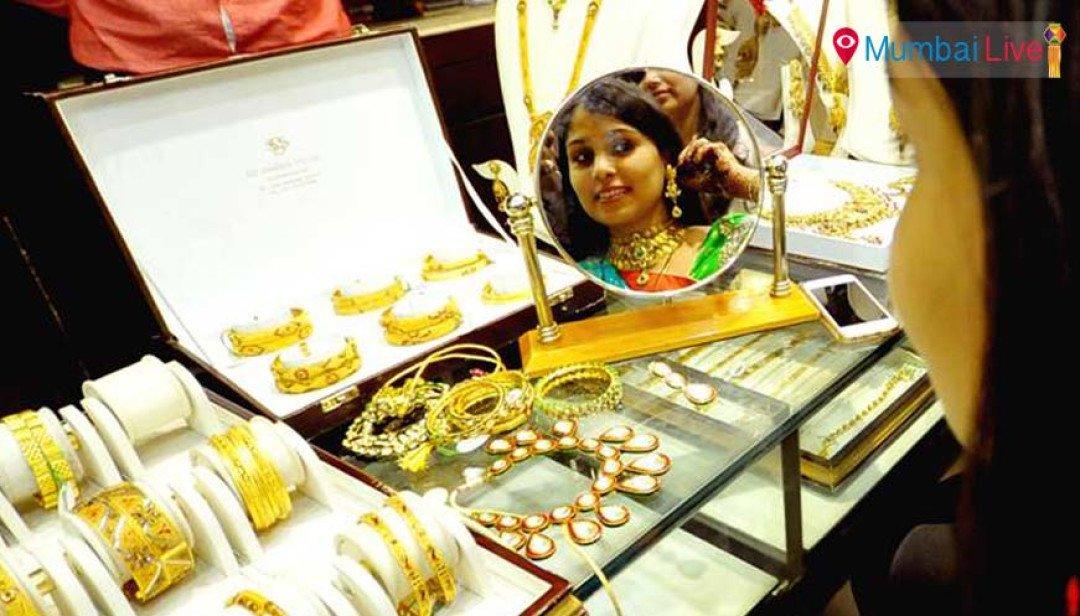 दिवाली पर चमका सोना