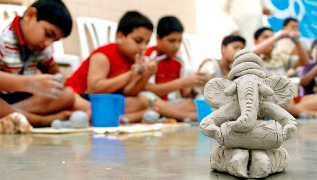 'Ganeshmurti Workshop' for kids at Andheri