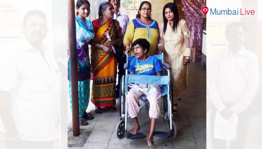 Disabled women given away machines