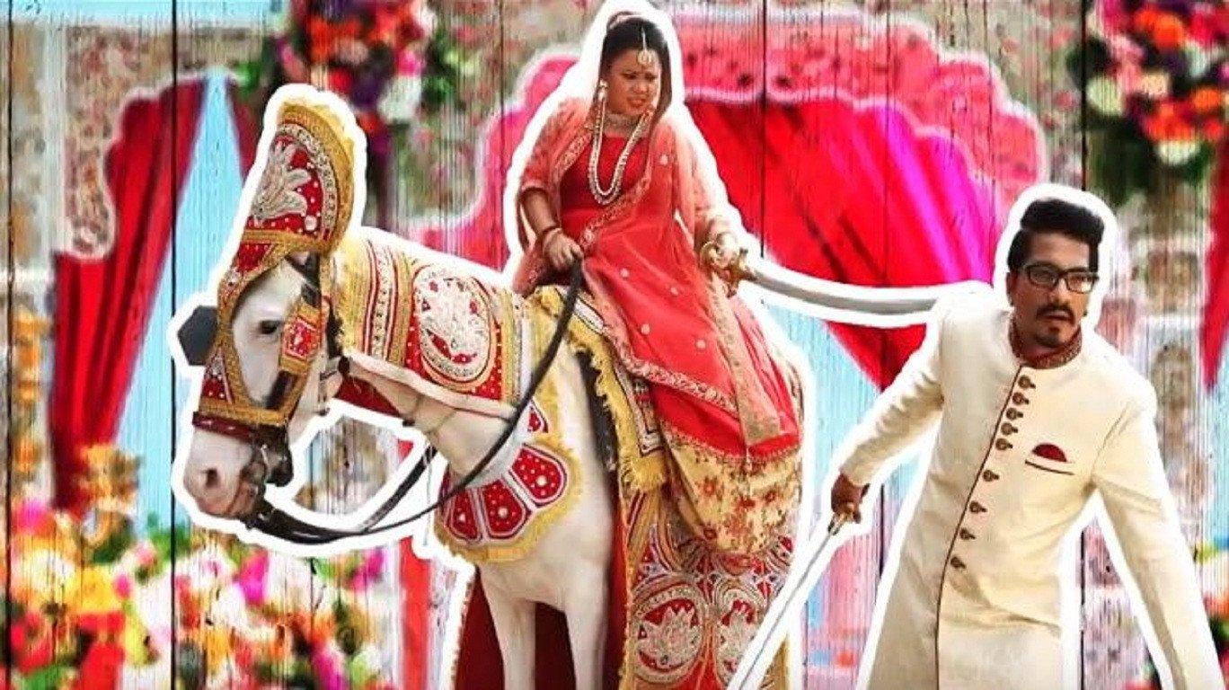 Rakhi Sawant turns 'Naagin' at Bharti Singh-Haarsh Limbachiyaa wedding; watch video
