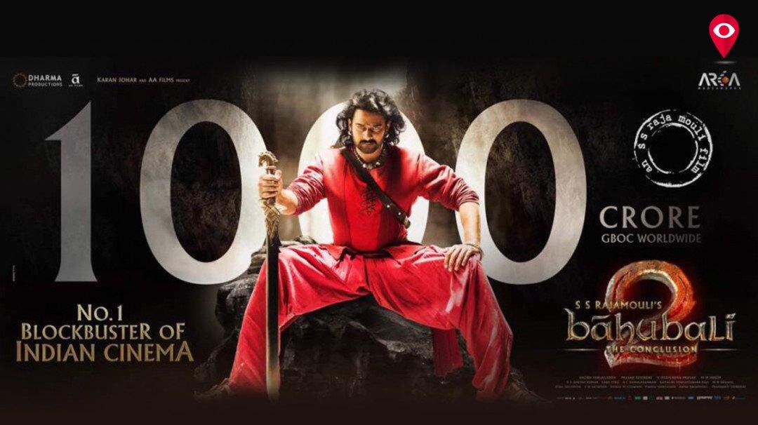 Bahubali reaches 1,000 crore mark