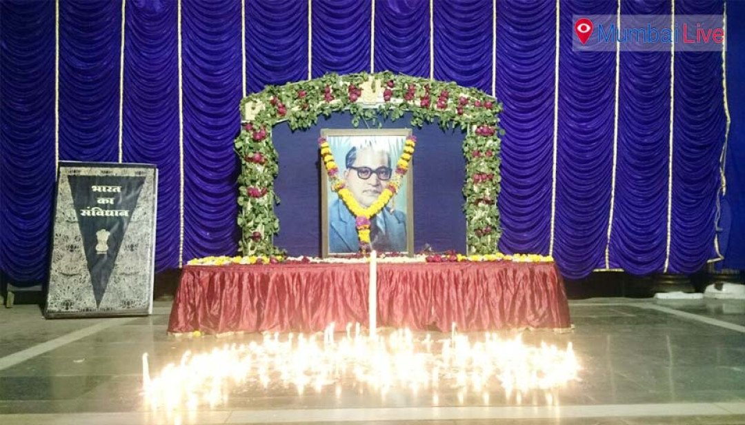 Homage paid to Dr Ambedkar