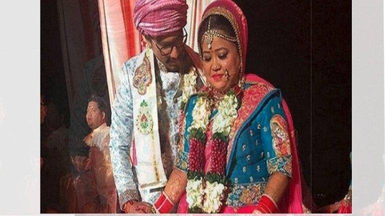 भारती-हर्ष अडकले लग्नबंधनात, पाहा त्यांच्या लग्नाचे काही फोटो आणि व्हिडिओ