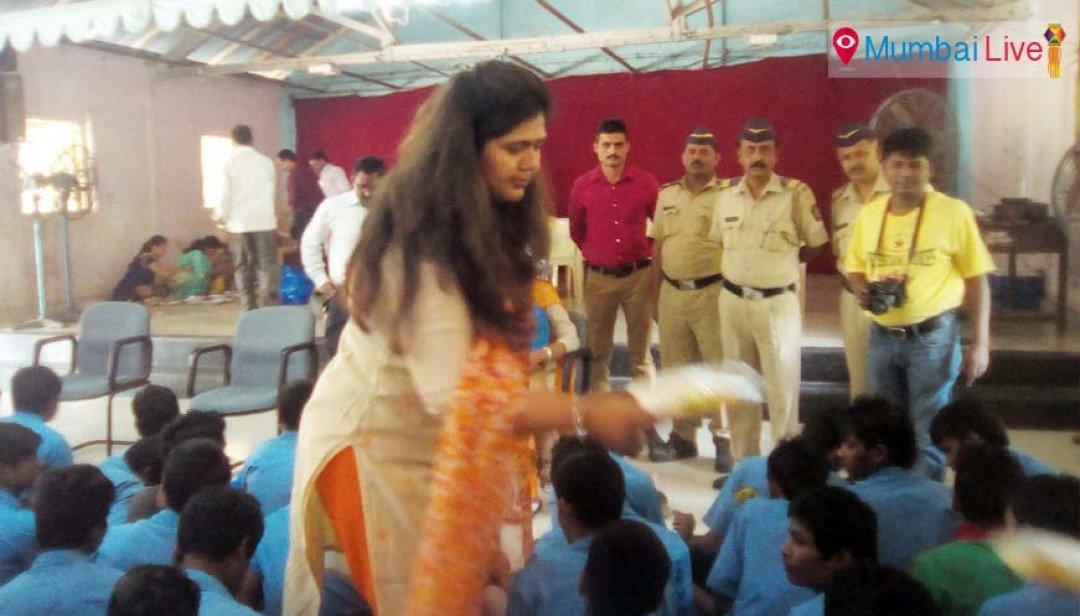 Pankaja Munde celebrates Diwali with orphan children