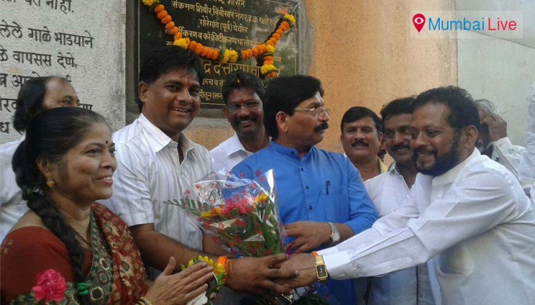 Ravindra Waikar initiates facelifting of transit camps