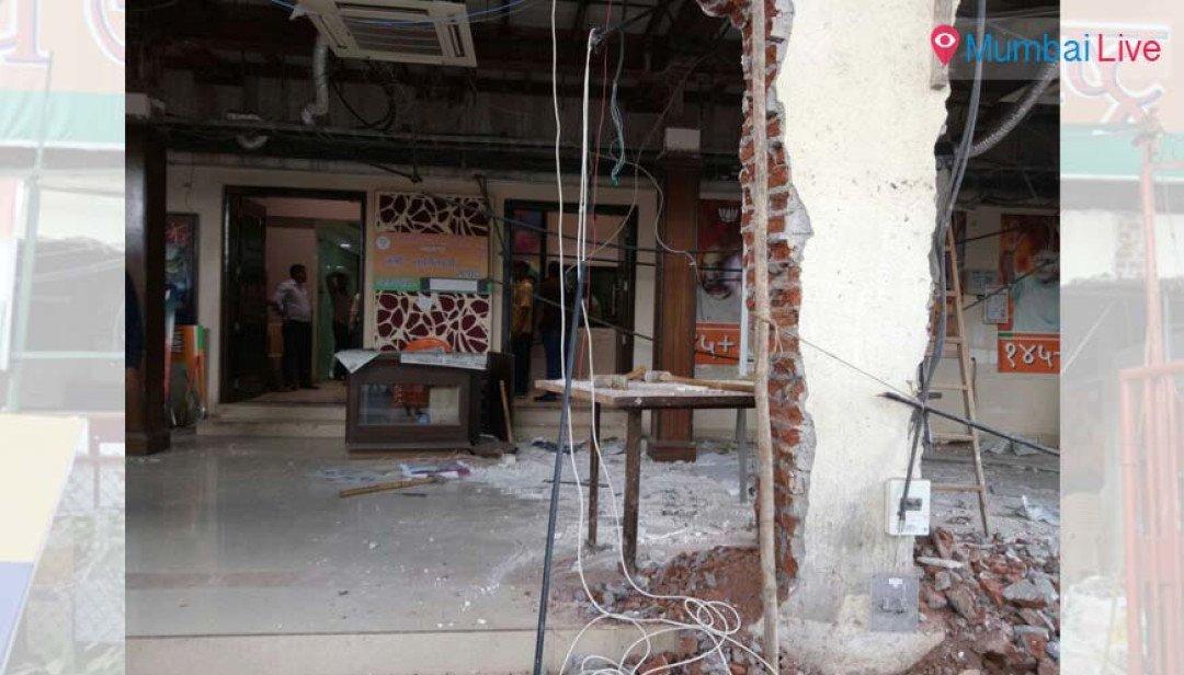 भाजपनंच तोडलं भाजप प्रदेश कार्यालय