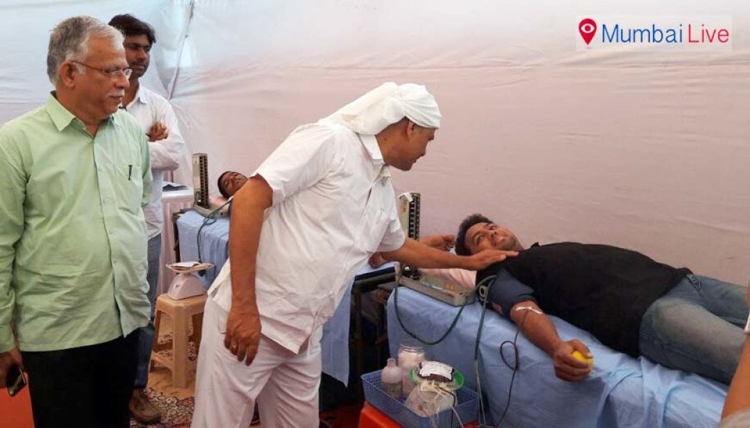 Sena holds blood donation camp