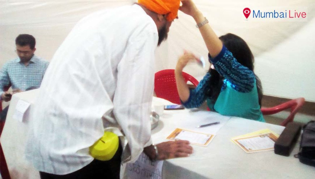 Free health camp in Gurudwara