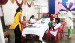 मोफत आरोग्य तपासणी आणि रक्तदान शिबीर