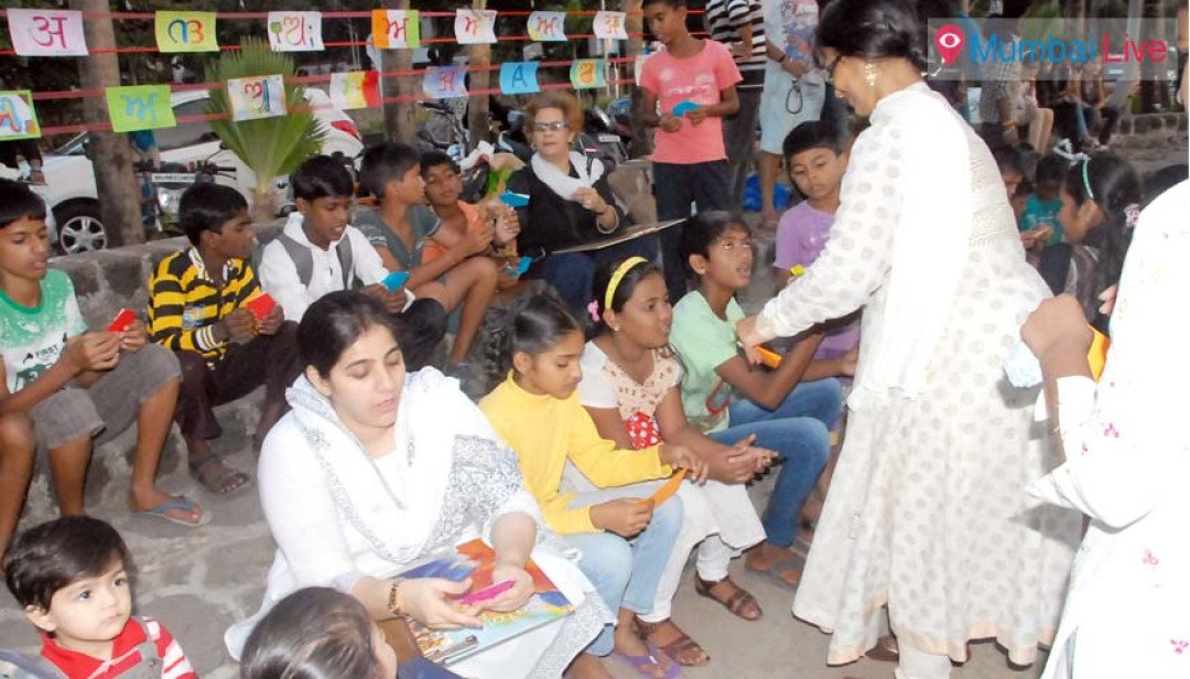 Open library for poor kids opened
