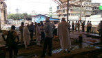 बोरी मस्जिद में इमारत का हिस्सा गिरा !